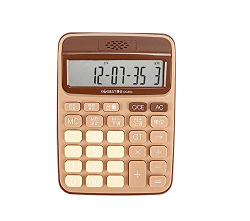 Calculator Voice Computer Live Voice 12-bit Large Screen Eco