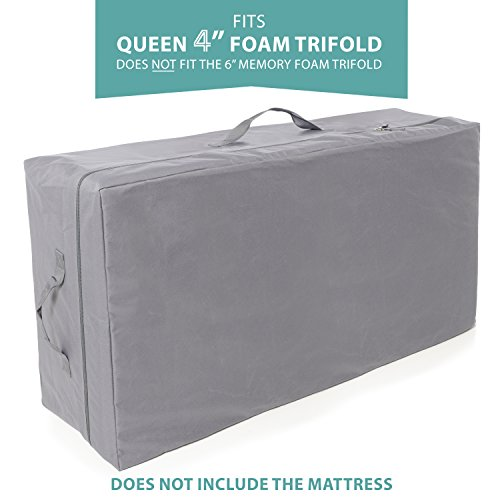 Carry Case Milliard Tri-Fold Mattress | 4 Queen | Does NOT FIT 6