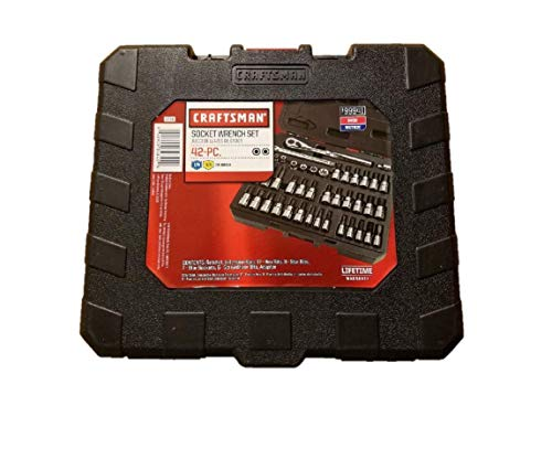 Empty Replacement Case for Craftsman 42 Piece Socket Wrench Bit Kit Set - 99941