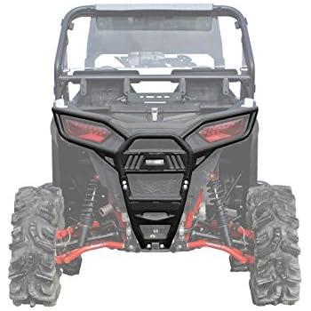 Polaris 2880164-458 Black Deluxe Rear Bumper