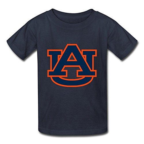 Youth Online Pre-cotton Auburn Football T-Shirt Red US Size S