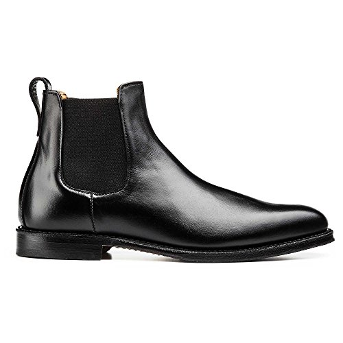 Allen Edmonds Mens Liverpool Chelsea Dress Boot Nero