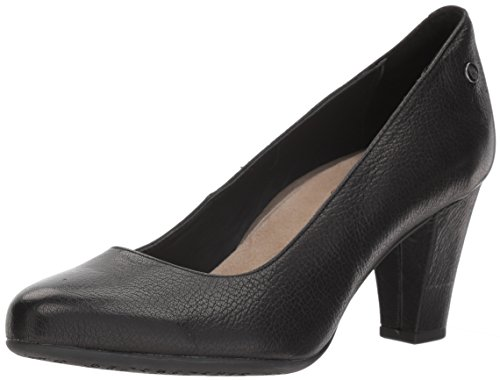 (Hush Puppies Women's Minam Meaghan Pump, Black, 8.5 M US)
