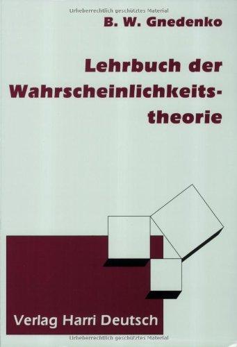 Lehrbuch der Wahrscheinlichkeitstheorie