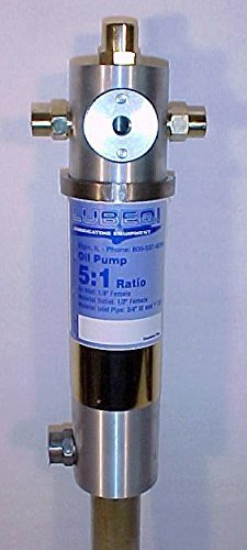 Drum Pump Pneumatic (LUBEQ 49337 Air-Operated Lube Oil Pump for 55 gal Drums incl drum adapter)