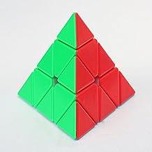 Kingcube Pyraminx Stickerless Magic cube Stickerless Bright Pyraminx Speed cube