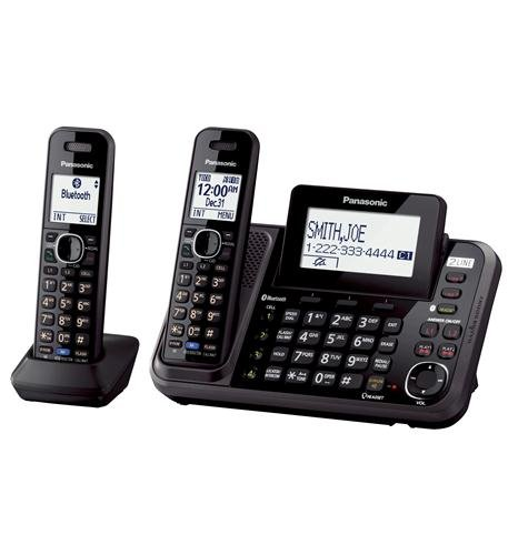 2-Line Cordless, 2HS, Link to Cell, USB Computers, Electronics, Office Supplies, Computing by Panasonic