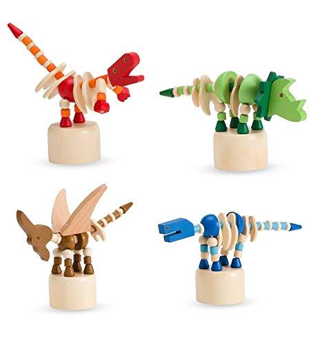 Magic Cabin Dinosaur Fingermajigs, Set of 4