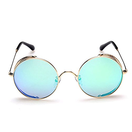 Hikote #5533 Women Round Metal Cute - Should Glasses Who Wear Round