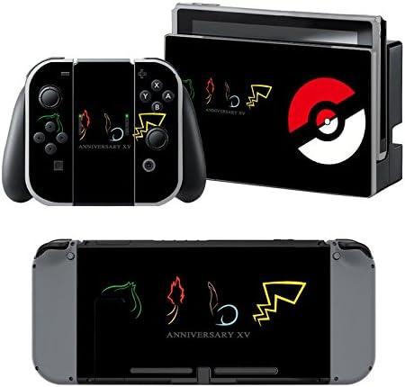Pokemon - Pegatina Nintendo Switch - 1 Pegatinas de Consola , 2 ...
