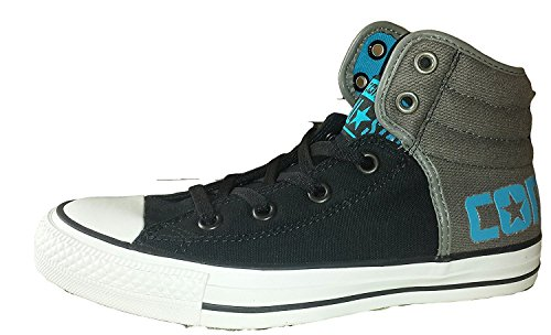 Converse Jungen Boy Sneaker Schuhe Shoes Gr. 38.5 Chuck Taylor All Star High Top Canvas *** CT SWAG HII BLACK/CHARCO *** 243203F