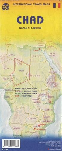 Download Chad 1:1,500,000 Travel Map *** (International Travel Maps) pdf
