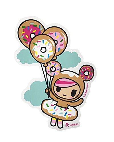 Tokidoki Donutella Balloon Sticker