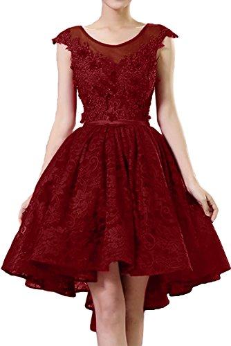 Elegant Abendkleider Ballkleid Ivydressing Kurz Festkleid Royalblau Cocktailkleider Spitze Damen S7Ew5F