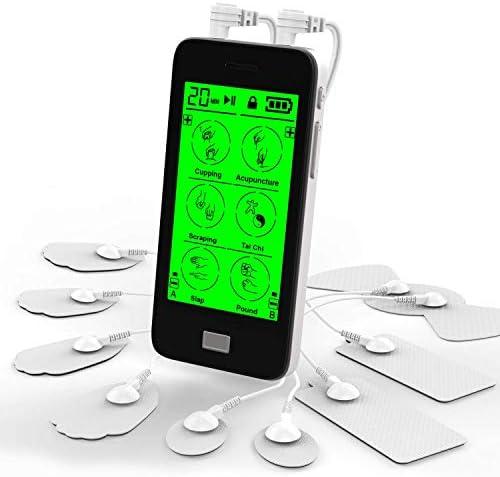 EUNON Touchscreen TENS EMS Unit Muscle Stimulat...