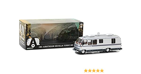 Amazon.com: Greenlight 86312 1981 Airstream Excella 280 Turbo 1:43 Scale Diecast: Home & Kitchen