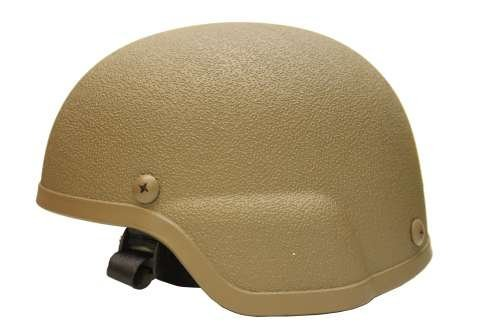 Airsoft ABS MICH Tactical Helmet Tan