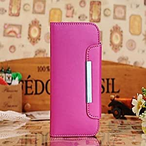 TOPMM Luxury Alligator Pattern Wallet Case Wallet Leather Case for Samsung Galaxy S4 I9500 (Assorted Colors) , Purple