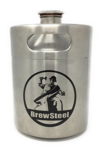 BrewSteel Mini Keg Growler Stainless Ste - Large Beer Keg Shopping Results