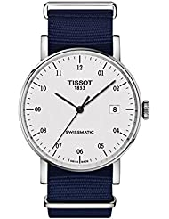 Tissot Unisex Everytime Swissmatic - T1094071703200 Silver/Dark Blue One Size