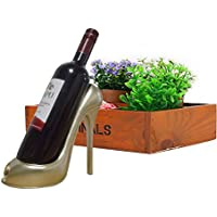 Kicode forme de haut talon de chaussure Porte-bouteille de vin Rack élégant vin Accessoires pour Home Décor