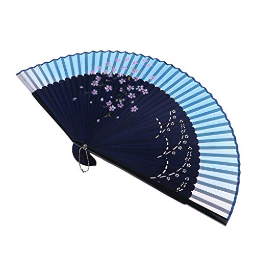 Agordo Bamboo Hand Fan Folding Fan for Favors Commercial Promotional Activity Gifts
