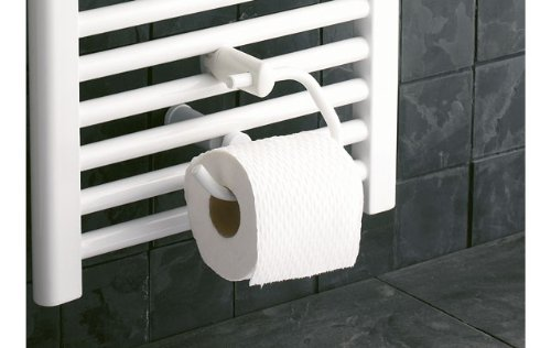 Radiator Voor Toilet : Deluxe toilet roll holder to fit onto your towel rail in a