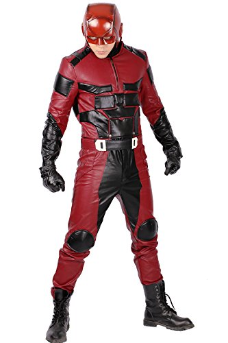 Cosplay Kostüm Deluxe Herren Kleidung Overall Outfit Hero PU Armored Anzug Erwachsene Halloween Verrücktes Kleid 2016