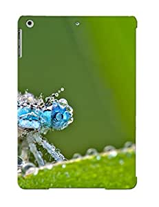 Eutxcx-3666-jikthcs Tough Ipad Air Case Cover/ Case For Ipad Air(dragonfly) / New Year's Day's Gift