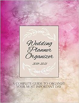 Wedding Planning Book.Wedding Planner Organizer 2018 2021 Wedding Planner Book