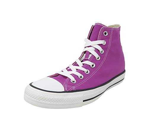 Converse All Star Unisex Shoes Hi Top Purple Cactus Sneakers (8) -
