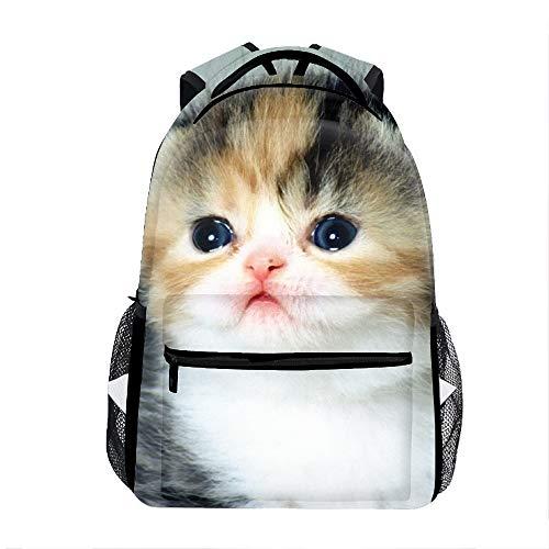 3D Cachorro Gatito School Backpacks Travel Bags for Teen Girls -