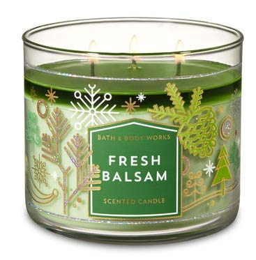 Bath & Body Works 3-Wick Candle in Fresh Balsam -...