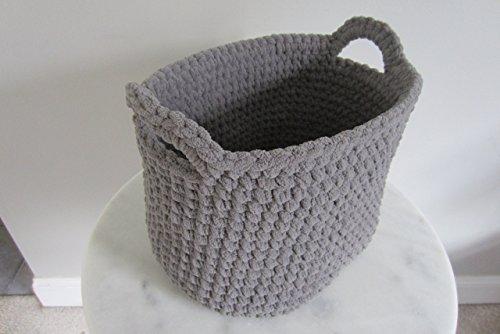 Large Oval Basket, Extra Deep, Upright Magazine Holder, Toilet Tank Storage - Many Color Choices!