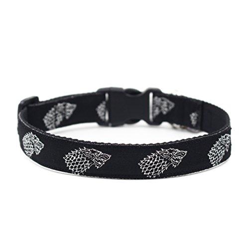 happypettag-pet-collar-game-of-thrones-house-stark-black-heavy-duty-nylon-dog-collar-width-3-4-adjus