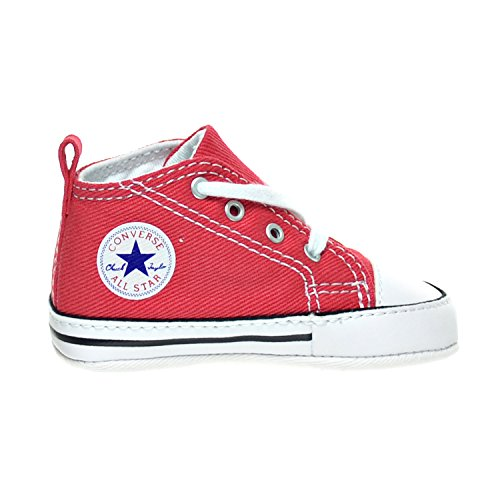 Converse First Star Infant Shoes Red 88875 (1 M US) Converse Red Shoes