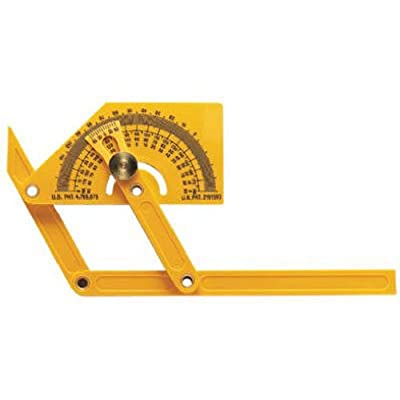 General Tools 29 Plastic Protractor and Angle Finder with Articulating Arms from General Tools