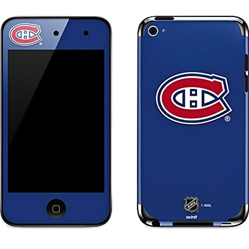 (NHL Montreal Canadiens iPod Touch (4th Gen) Skin - Montreal Canadiens Solid Background Vinyl Decal Skin For Your iPod Touch (4th Gen) )