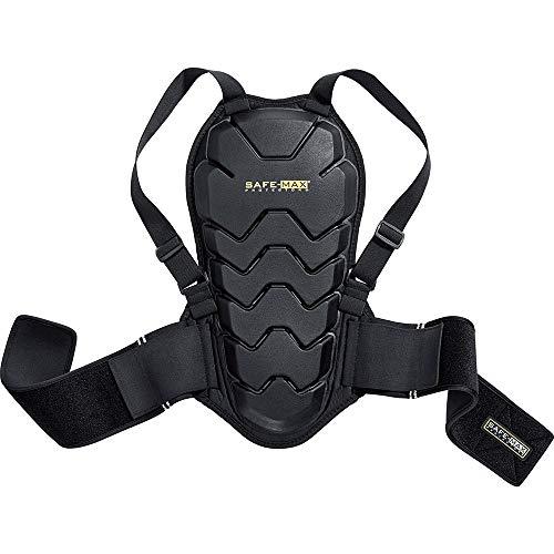 Safe Max® Rückenprotektor Motorrad Herren und Damen Rückenprotektor 04, Schutzklasse 2, sehr hohe Flexibilität, leichtes…