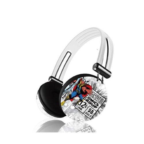 iHip MVF-HP28-RT-4 Marvel Comics Pro Audio On-Ear Headphones