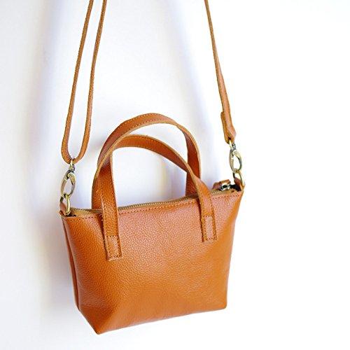 GUANGMING77 Un brown Blanco Simple Portátil Bolso TTqd6wFr