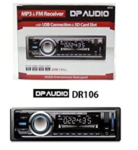 41LgU jlUjL._SY300_ amazon com dp audio dr106 fm and mp3 stereo receiver with usb dp audio dr106 wire diagram at n-0.co