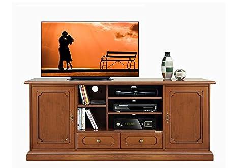 Credenza Per Tv : Mobile classico porta tv hi fi base per home cinema credenza