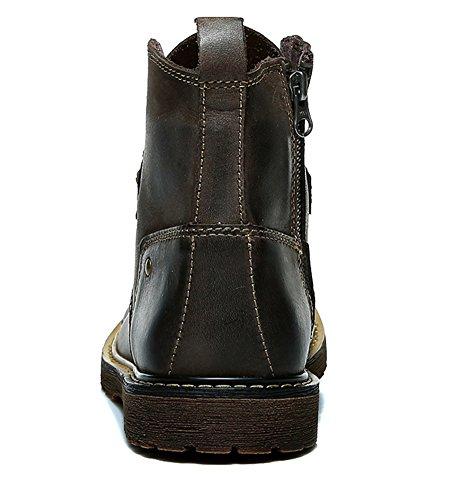 Insun ,  Herren Chukka Boots Deep Coffee