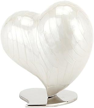 Urns UK Cremation - Urna para Cenizas, diseño de corazón, tamaño Grande