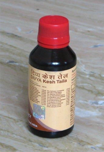 Divya Kesh Tail (Ayurvedic Herbal Hair Oil for Hair Loss, Dandruff and Headache) by Divya by Divya Yoga