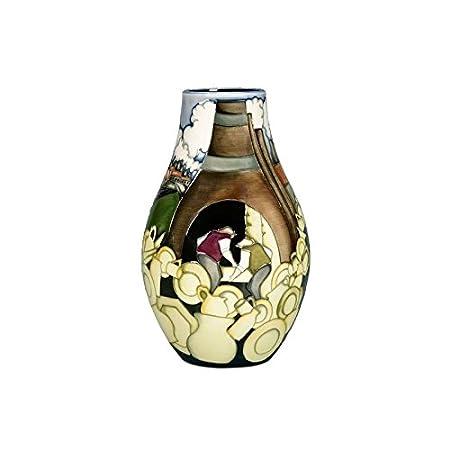 Moorcroft Pottery Brindlays Canal Vase - Limited Edition