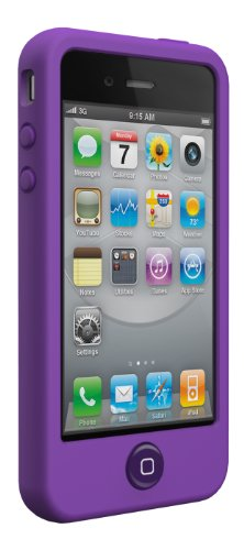 Case Silicone Switcheasy (SwitchEasy Colors Silicone Case for iPhone 4 & 4S - Viola)