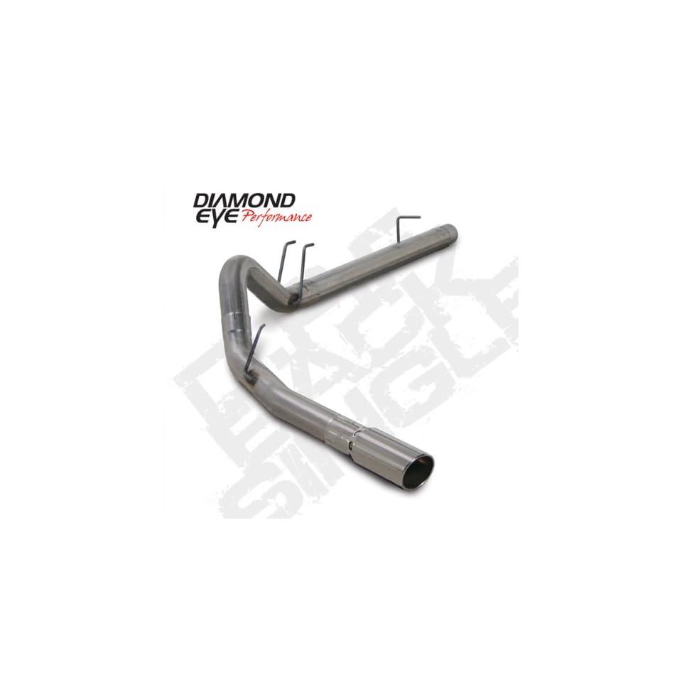 Diamond Eye K4361S 4 Single Turbo Back Kit 08 10 Ford F 250/F 350 SD 6.4L