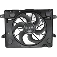 MAPM Premium CROWN VICTORIA 03-05 RADIATOR FAN SHROUD ASSEMBLY, w/ Controller